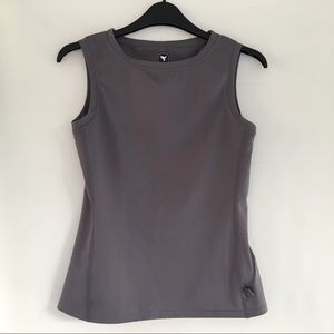 Insport Active Wear Tank Top Gray Workout Top